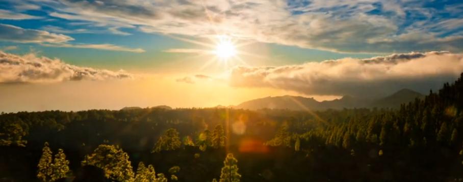 Очень красивое видео – звёздное небо