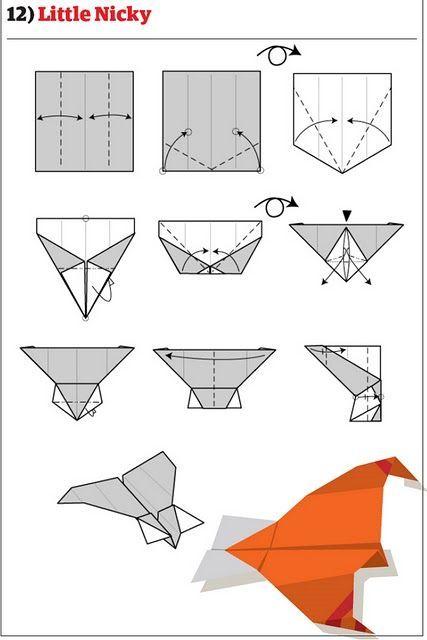 Как сделать из бумаги крутой самолет видео
