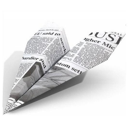 12 способов сделать бумажный самолетик