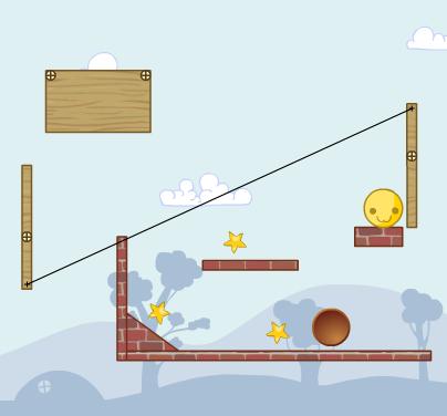 Колобки – игра с элементами физики