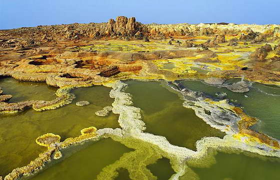 Африка Эфиопия Даллол
