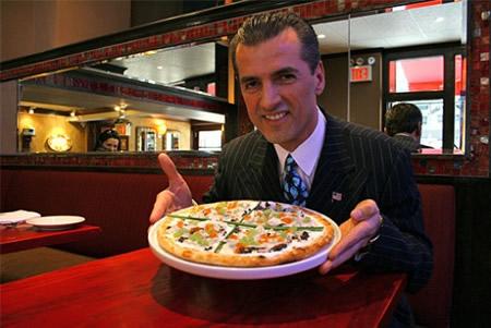 Цена самой дорогой пиццы в мире 1000$