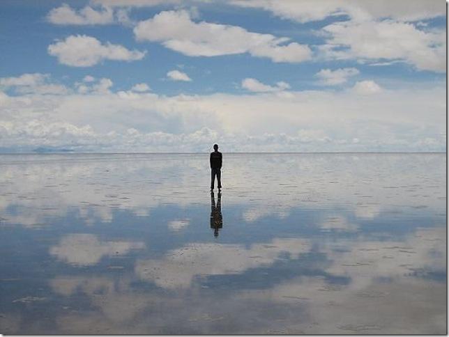 Самое большое в мире зеркало – Солончак Уюни
