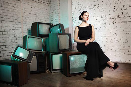 """Екатерина Андреева - телеведущая. """"Новости"""" - Первый канал"""