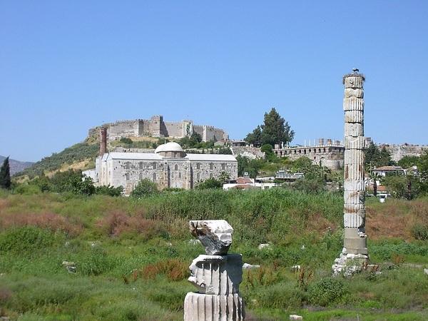 храм артемиды в эфесе фото