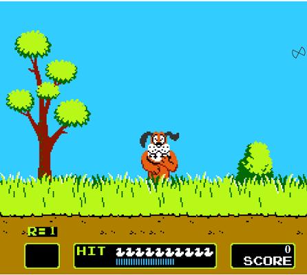 Игра: охота на уток как на Денди!