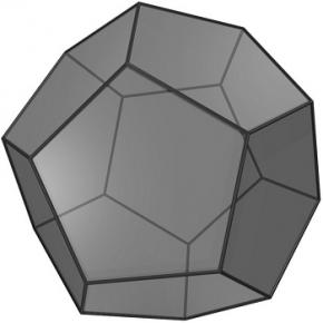 Вселенная имеет форму додекаэдра