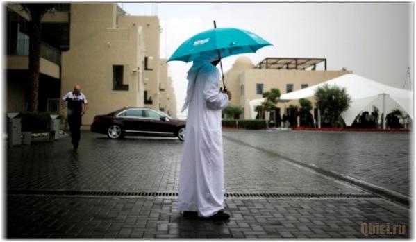 Дождь в Абу-Даби