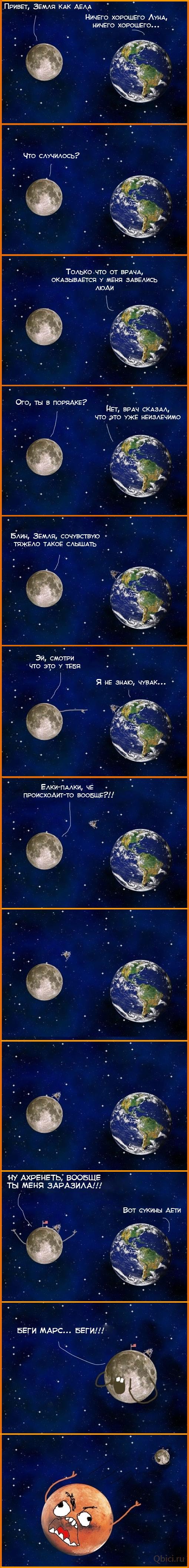 марс fuuu, люди вирус, вирус жизни