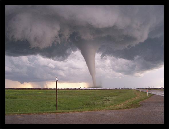 самый сильный ветер - торнадо