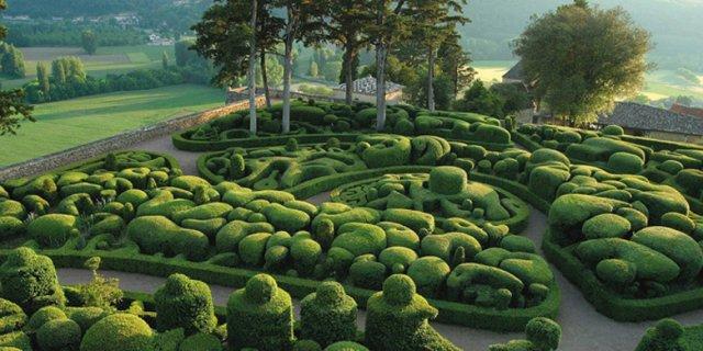 Сады Marqueyssac, Франция