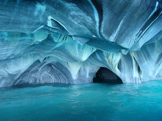 Мраморные пещеры, Чиле-Чико, Чили