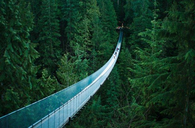 Висячий мост Капилано, Ванкувер, Канада