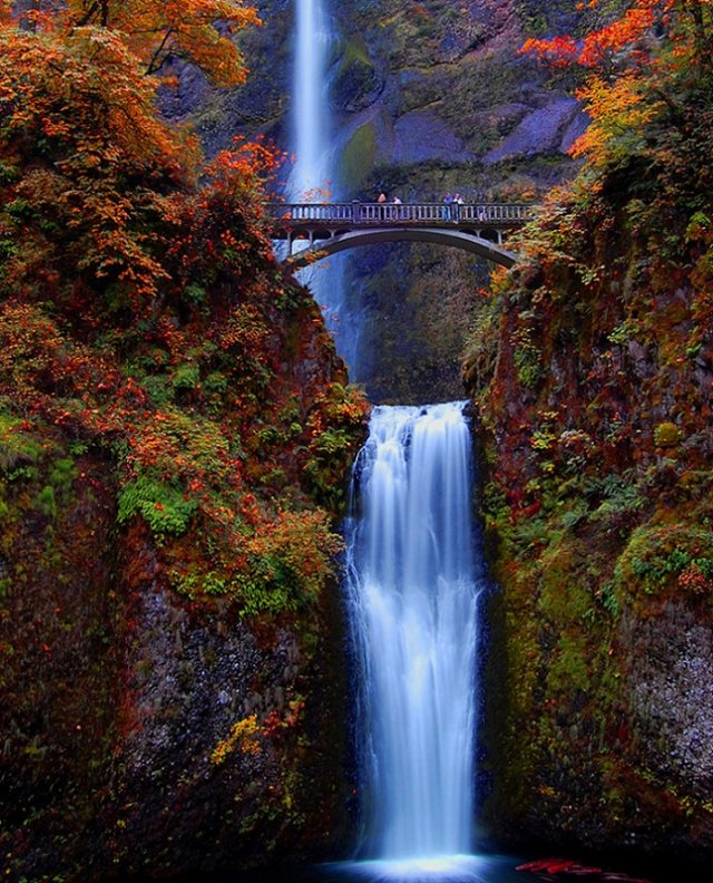 Малтнома-Фолс, штат Орегон, США