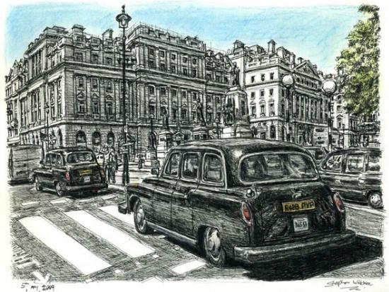 Стивен Вилтшер Лондонское такси