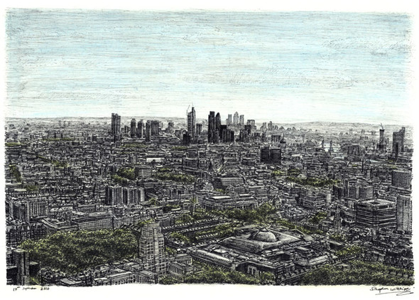 Стивен Вилтшер панорама Лондона