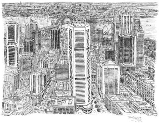 Стивен Вилтшер Сидней панорама
