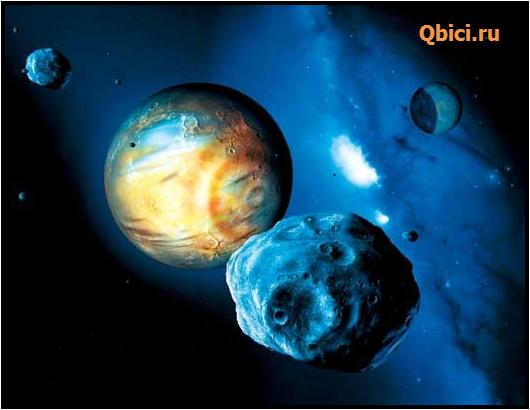 Предполагаемый внешний вид Плутона