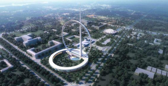 Самое большое колесо обозрения в мире будет в Москве!