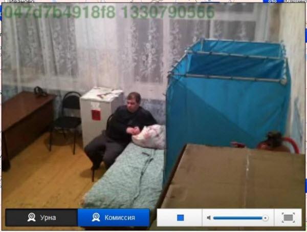 кровать на выборах