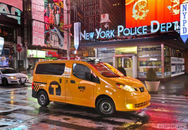 Городское такси разработала компания Nissan