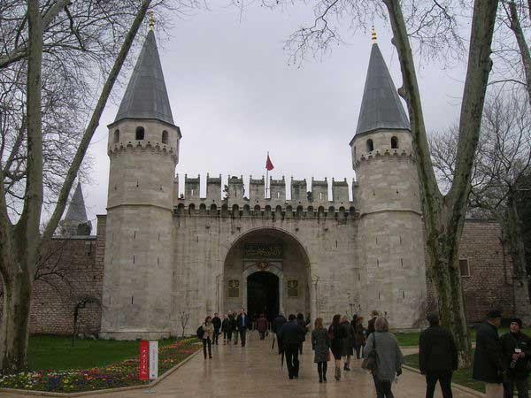 дворец Топкалы