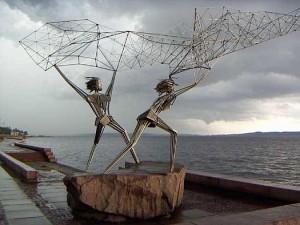 памятник рыбаки