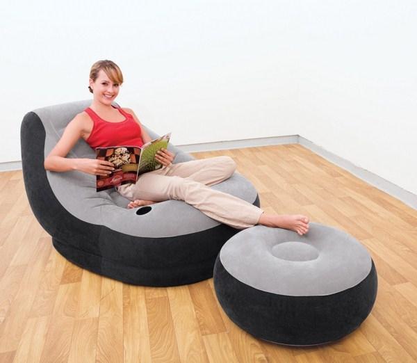 Надувная мебель это удобно и современно!