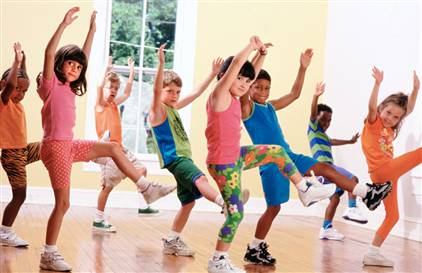 Что такое фитнес для детей?