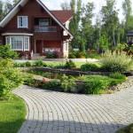 Дачный участок – пространство для создания ландшафтного дизайна
