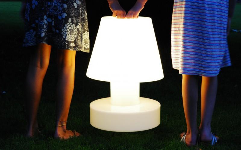 Беспроводная настольная лампа