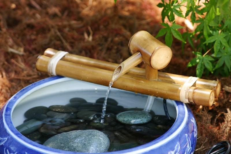 Как создать настольный фонтан своими руками