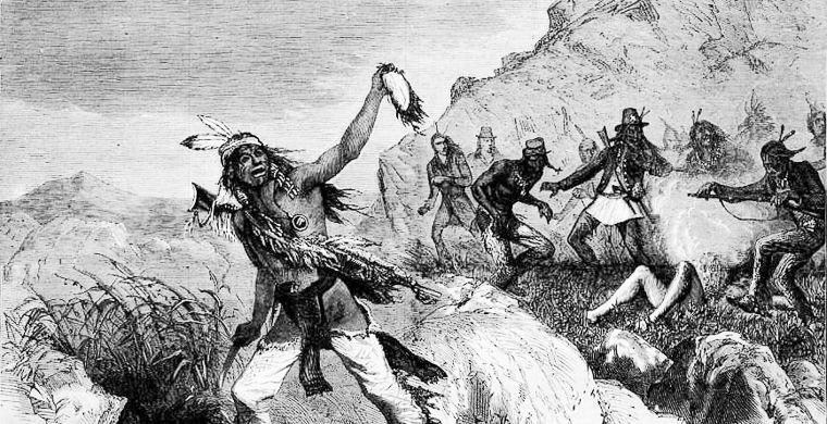 Зачем индейцы снимали скальпы со своих врагов?