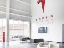 Первые снимки с места строительства гигантской фабрики Tesla