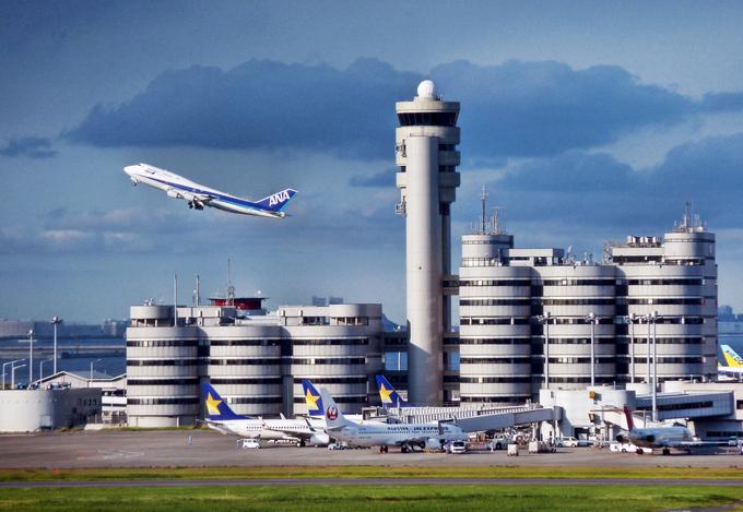 4. Международный аэропорт Ханэда в Токио, Япония