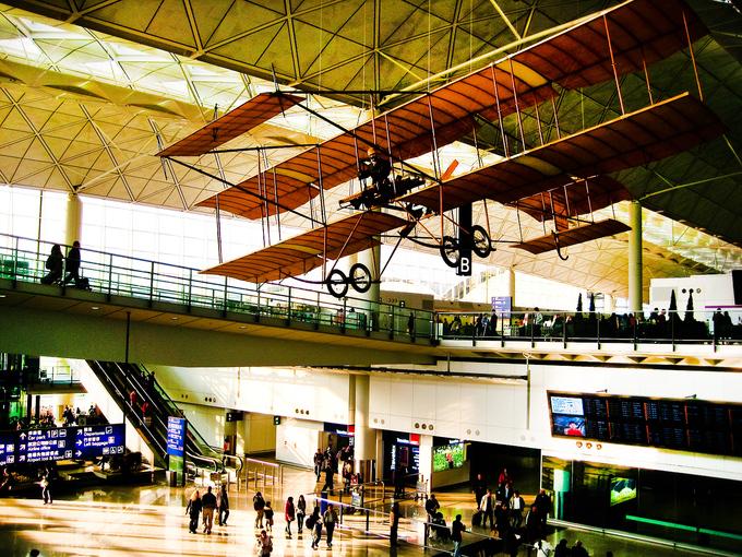 5 Международный аэропорт Гонконга