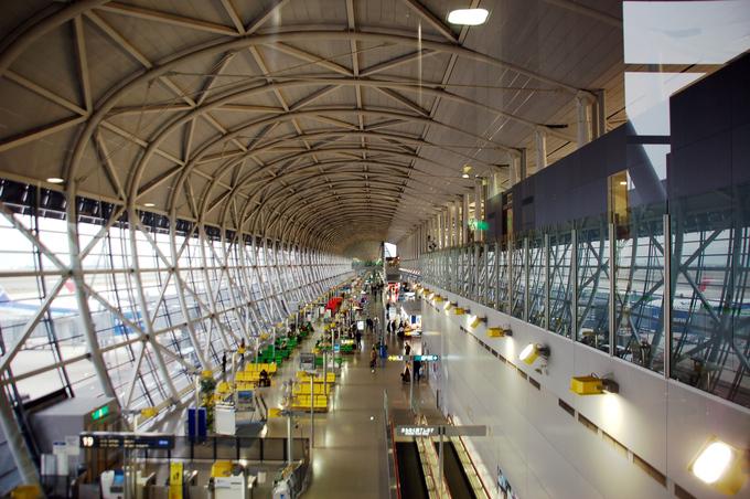 9 Международный аэропорт Кансай, Осака, Япония