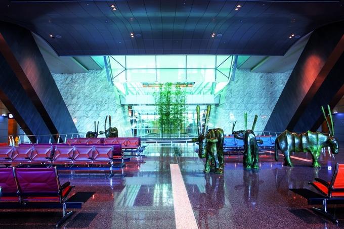 10. Международный аэропорт Хамад, Доха, Катар