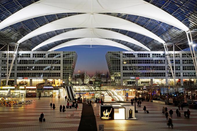 3. Мюнхенский международный аэропорт имени Франца-Йозефа Штрауса, Германия