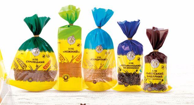 Главная пекарня Львовской области изменила упаковку своей продукции