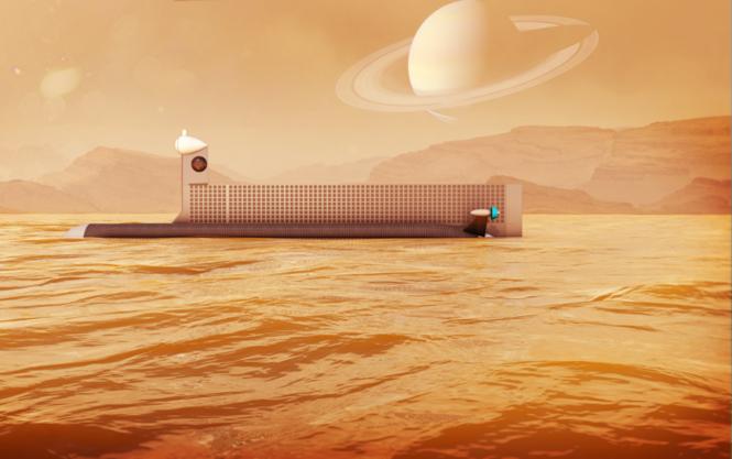 NASA планирует запустить подводную лодку в метановые океаны Титана