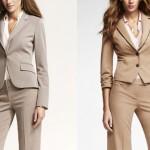 Офисная мода: женские костюмы