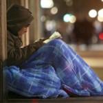 Крыша, еда и теплое белье для бездомных
