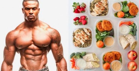 Мясные и белковые продукты и бодибилдинг