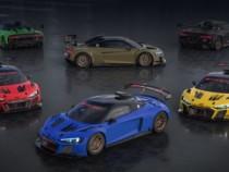 Шестёрка Audi R8 LMS GT2 Color Edition останется неповторимой