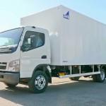 Новый грузовик Canter марки Fuso
