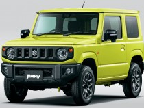 Suzuki модернизировала внедорожник Jimny